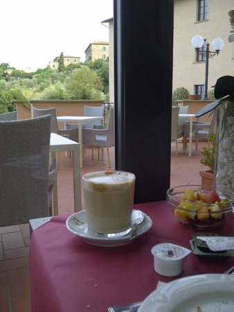 Park Hotel le Fonti: Detalhes do café da manhã: café sempre preparado na hora e o que vc escolher