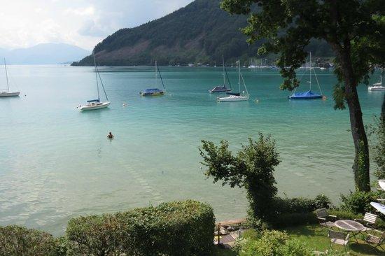 Pension Reiter-Moravec: Karibisches Blau Emfang uns jeden Tag am See