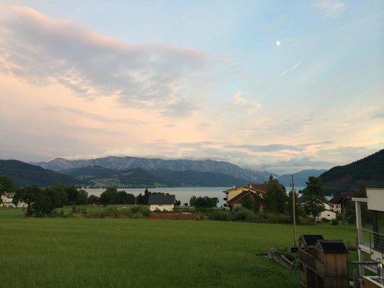 Pension Reiter-Moravec: Die Sicht vom Balkon unseres Zimmers