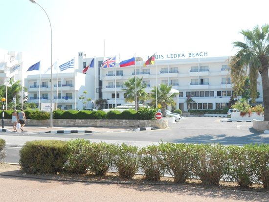 Louis Ledra Beach: View from across the road