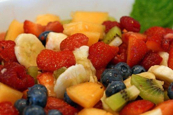 Garni Astrid: Macedonia di frutta fresca