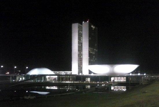 Congresso Nacional: Mais uma obra de Niemeyer