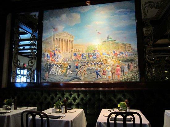 Old Ebbitt Grill : Comedor