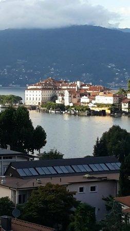 Hotel Flora - Stresa : Vista dell'Isola Bella