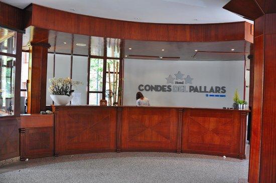 RV Hotel Condes Del Pallars: recepcion