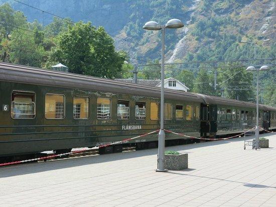 The Flam Railway: Flam Railway train cars