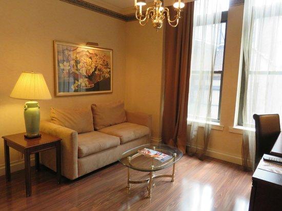 Avalon Hotel: Sitting area