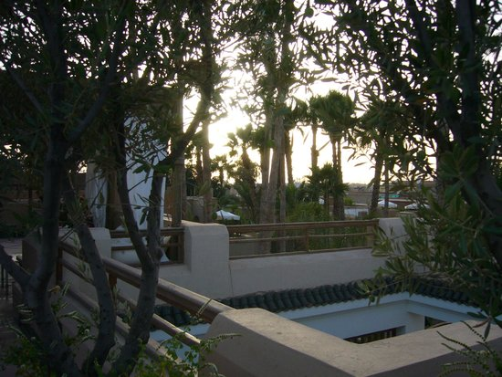 vue du patio picture of les jardins de la medina marrakech tripadvisor. Black Bedroom Furniture Sets. Home Design Ideas