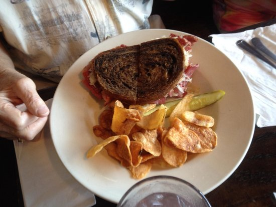 McCarthy's: Reuben with some great fries