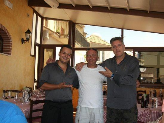 La Taverna dell' Etna: with the boss