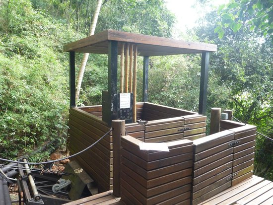 Loi Suites Iguazu : The funicular to the Iguazu River (inoperative)