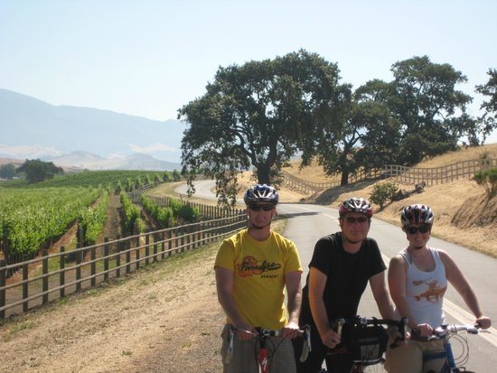 Santa Barbara Wine Country Cycling Tours - Day Tours: Sunny Day