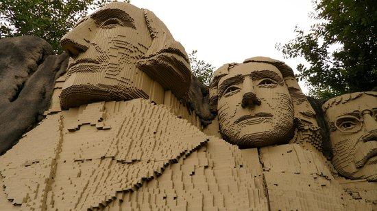 Legoland Billund: Monte Rushmore