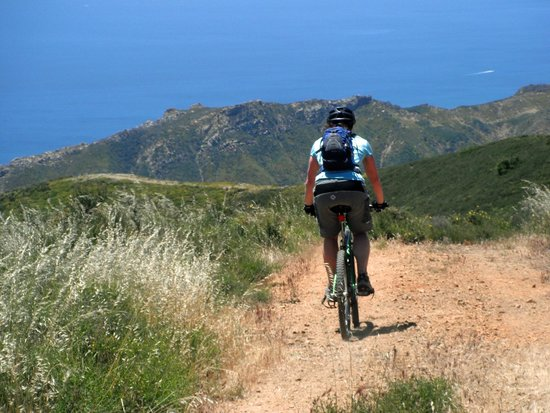 Santa Barbara Wine Country Cycling Tours - Day Tours: Epic Views as we drop to the beach