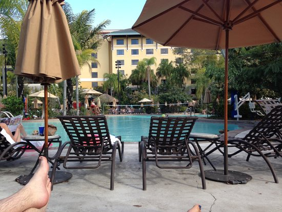 Loews Royal Pacific Resort at Universal Orlando: Poolside