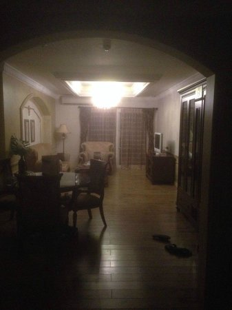 Four Seasons Place : гостиная