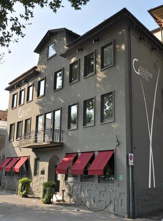 Glam Boutique Hotel: Hotel von aussen