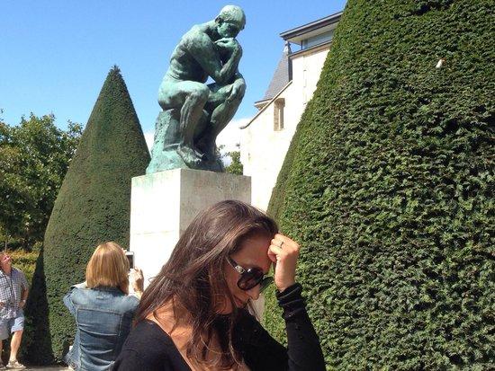 Musée Rodin : Il pensatore