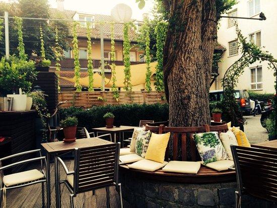 Restaurant Valentin: Sonnenterrasse