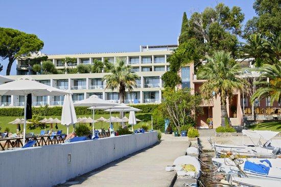 Kontokali Bay Resort and Spa: Main Building