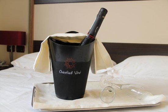 Viola Palace Hotel : Prosecco servito all'arrivo