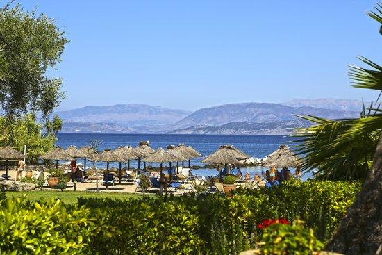 Kontokali Bay Resort and Spa: Sea View