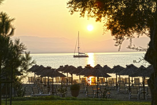 Kontokali Bay Resort and Spa: Sunrise