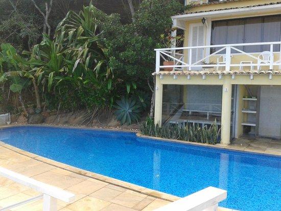 Posada Villa Mercedes: Habitaciones y piscina