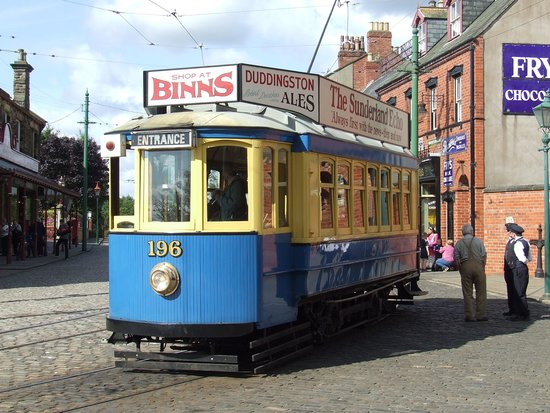 Beamish Museum: Tram