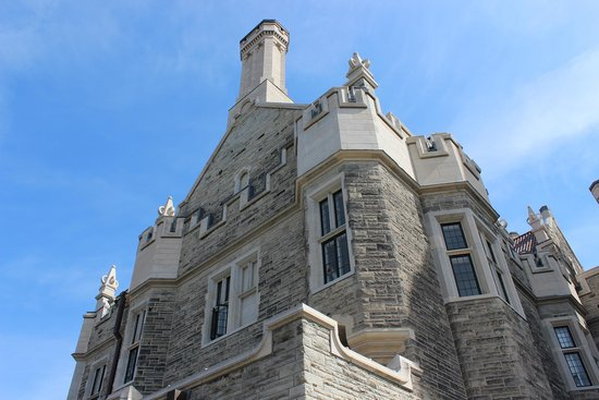 Casa Loma: Uma das vistas do Castelo