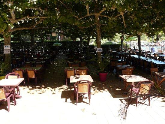 Residence de Vacances Univac Le Capet : la terrasse