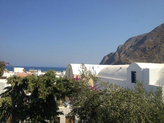 Cavo Bianco: Vue du balcon entre mer et montagne