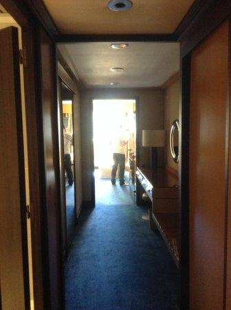 Amirauté Hôtel : Entrée