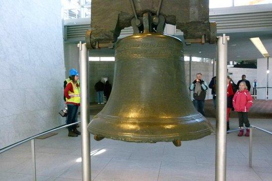 Liberty Bell Center: Campana