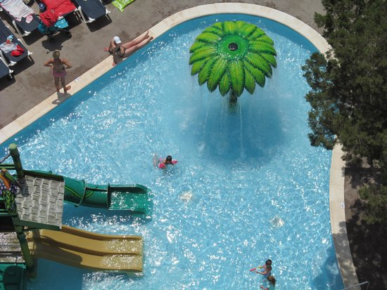 Fiesta Hotel Tanit : view of kids pool from balcony