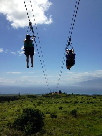 Kapalua Ziplines: Fly away!
