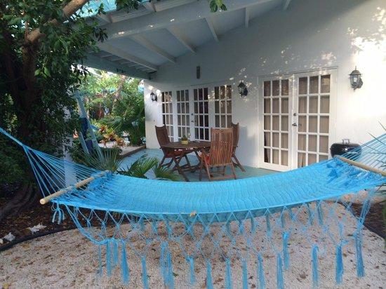 Boardwalk Hotel Aruba: Paradise! Garden of Casita #1