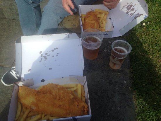 The Lock Inn: Fish supper