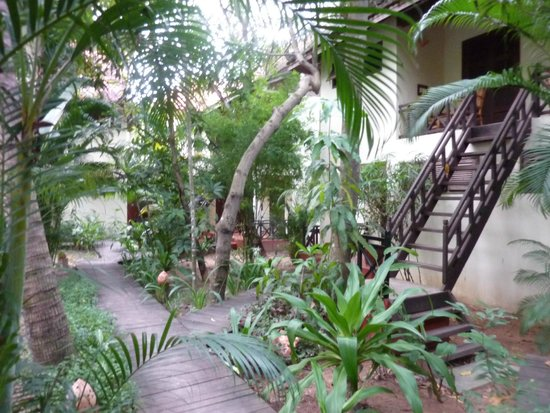 Mysteres d'Angkor Siem Reap Lodge: Accès aux chambres