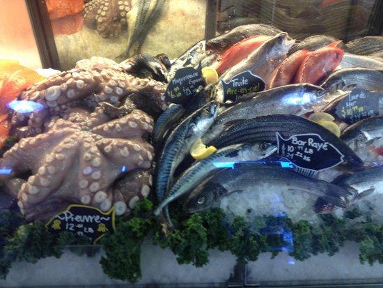 Marché Jean-Talon (Jean-Talon Market) : На рынке отличные морепродукты