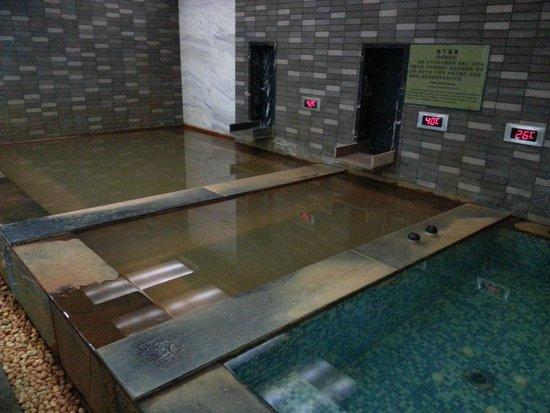 Novotel Xinqiao Beijing: Hot Tub