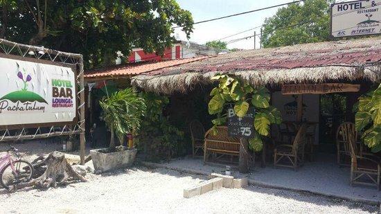 Pacha Tulum: Our terrace