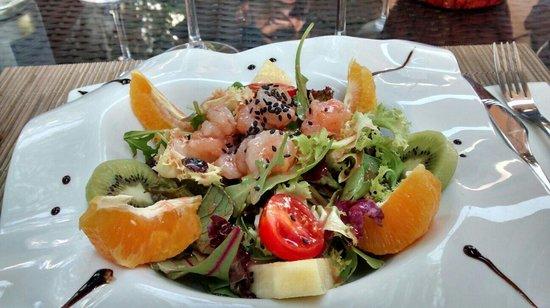 Bagua Lounge Restaurant: Ensalada súper fresquita