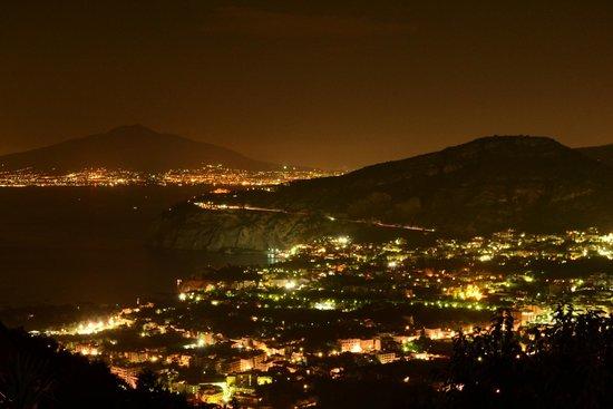 Villa Monica B&B: Vista desde la habitacion Vesuvio!
