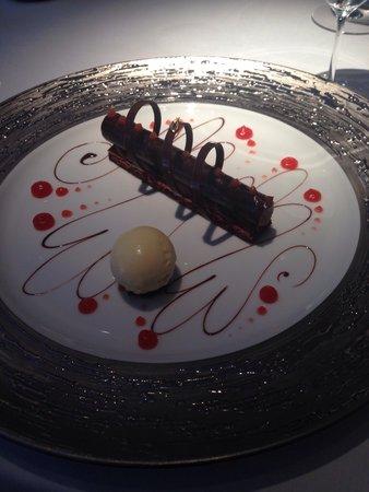 Restaurant Gordon Ramsay: Chocolate cigar