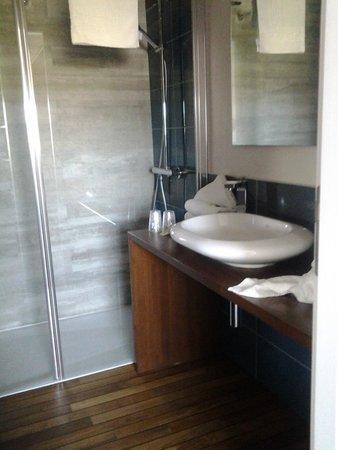 Hotel des Rochers : salle d'eau