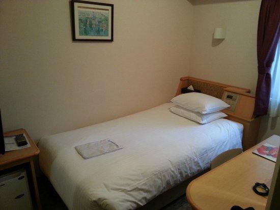 ibis Tokyo Shinjuku: Single Room 2 --- Bed