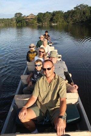 La Selva Amazon Ecolodge: Canoe expedition!