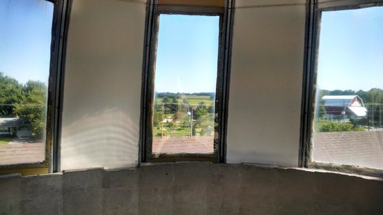Essenhaus Inn & Conference Center : View from the on-site silo