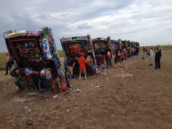 Cadillac Ranch: interesting